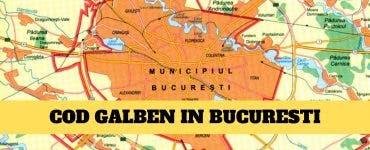 Vremea în Bucureşti: Meteorologii au emis cod galben