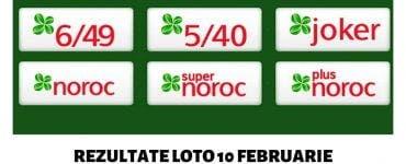Rezultate loto 10 februarie 2019: Numere extrase duminică la Loto 6 din 49