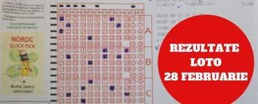Rezultate loto 28 februarie 2019: Numere extrase la Loto 6/49 și celelalte jocuri