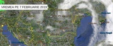 Prognoza METEO: Cum va fi VREMEA pe 7 februarie 2019