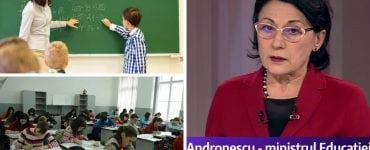 Ecaterina Andronescu anunță modificări pentru profesori și elevi