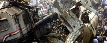 Egipt: Accident feroviar în Cairo - Zeci de victime