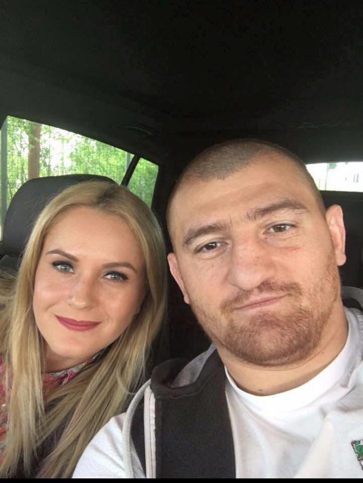 Moroşanu şi soţia sa