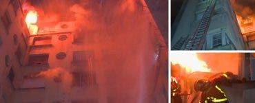 Incendiu în Paris. Şapte persoane au murit