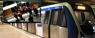 Tentativă de sinucidere la staţia de metrou Gorjului. O persoană s-a aruncat în faţa metroului
