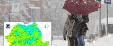 Vremea pe 6 februarie 2019. Iarna revine în România