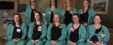 Cazul celor noua asistente care au ramas gravide în același timp