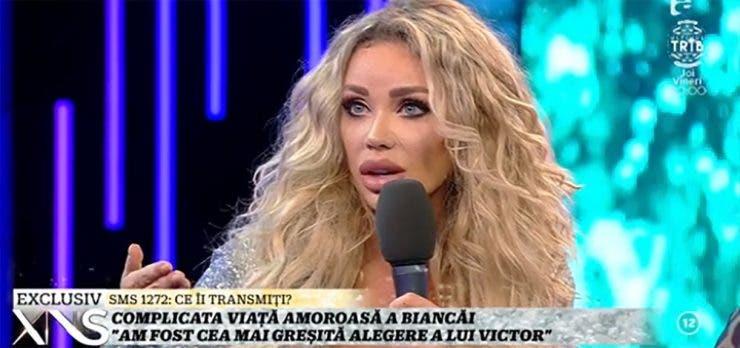 """Bianca Drăgușanu, despre Victor Slav: """"Am fost cea mai greșită alegere a lui"""""""