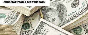 Curs valutar BNR 4 martie 2019. Banca Națională a României a anunțat cotațiile valabile astăzi pentru euro, dolar, lira sterlină și celelalte valute.
