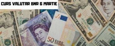 Curs valutar BNR 6 martie 2019 - Cotaţiile pentru euro, dolar şi celelalte valute