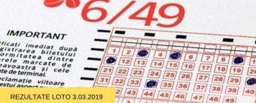 Rezultate Loto 3 martie 2019 - Loto 6/49, Joker, Noroc, etc