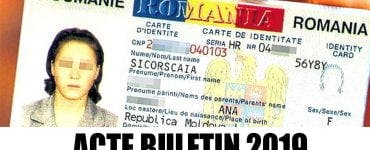 Act de identitate 2019