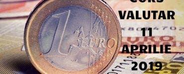Curs valutar 11 aprilie 2019. Leul se apreciează ușor față de Euro