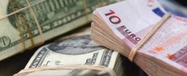 Curs valutar 3 aprilie 2019. Euro înregistrează o ușoară scădere
