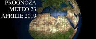 Vremea 23 aprilie 2019. Ploi în averse cu tunete şi fulgere