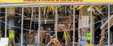BREAKING NEWS. Noi Atacuri în Sri Lanka. Bilanţul a crescut la 359 de morţi.