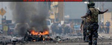 BREAKING NEWS. O nouă explozie a avut loc în Sri Lanka în această dimineață