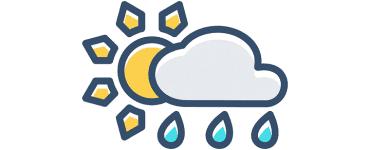 Vremea - joi 4 aprilie. Ploi abundente și temperaturi scăzute