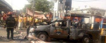 Atac cu bombă în Pakistan în timpul sărbătorii Ramadanului