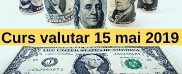 Curs valutar 15 mai 2019. Ce se întâmplă astăzi cu moneda europeană