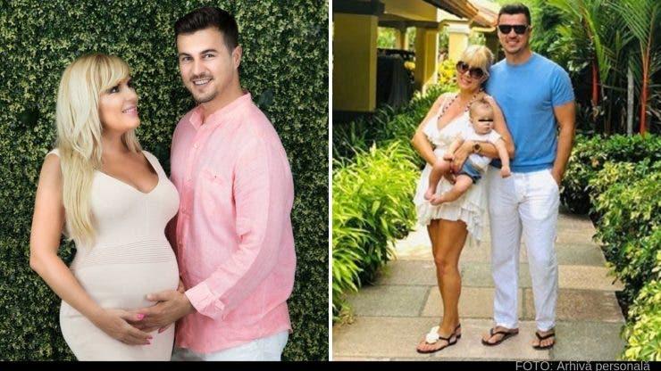 Elena Udrea, Adrian Alexandrov și micuța Eva Maria, o familie fericită