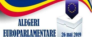 Alegeri europarlamentare 2019. Alegătorii votează la secțiile de votare la care sunt arondați cu domiciliul, conform listelor electorale permanente.