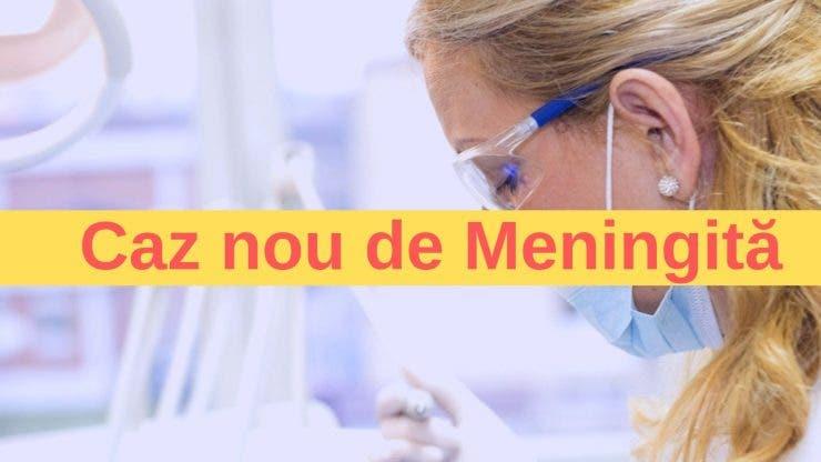 Caz nou de Meningită. O elevă de 16 ani a fost internată în spital