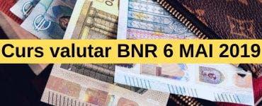 Curs valutar BNR 6 Mai 2019. Cât costă moneda europeană