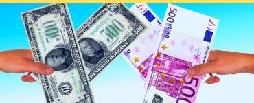 Curs valutar 30 mai 2019. Ce valoare au atins euro și dolarul