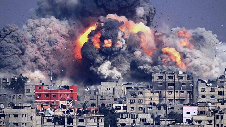 Fâșia Gaza și Israel. Peste 400 de rachete au fost lansate din Fâșia Gaza