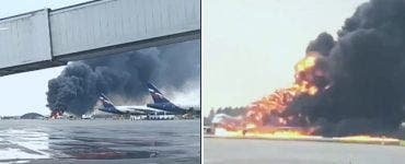 Tragedie aviatică la Moscova. Una din cutiile negre ale avionului a fost grav avariată în urma incendiului de la bord