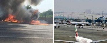 Avion prăbușit în Dubai! Patru persoane au decedat în urma evenimentului tragic