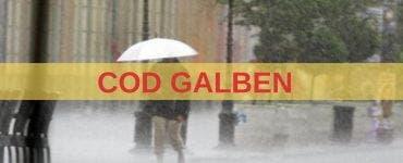 Vremea 16 mai 2019. Cod galben de ploi în toată țara