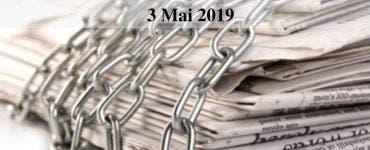 Ziua Mondială a Libertăţii Presei 2019 se aniversează astăzi, pe 3 mai