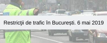 Restricţii de trafic. 10 accidente în ultimele 24 ore în Capitală.