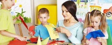 Proiect de lege care îi determină pe părinți să își retragă copiii de la grădiniță