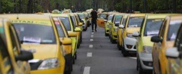 """Protestul traximetriştilor blochează astăzi Capitala. Transportatorii protestează împotriva """"ridesharing"""""""