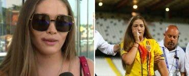 România U21- Germania U21. Cum arată iubita lui Cristi Manea după incidentul din tribune