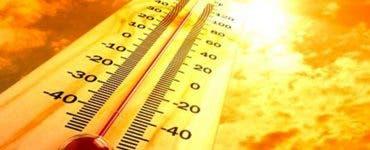 România, acoperită de temperaturi de 39 de grade Celsius