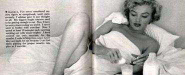 Dieta lui Marilyn Monroe. Ce mânca frumoasa actriță pentru a-și menține silueta