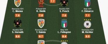 Trei internaţionali români sunt în echipa ideală de la Euro 2019