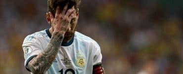 Argentina lui Messi, îngenuncheată de Columbia