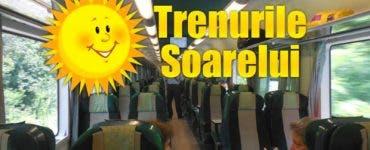 Vineri sosesc trenurile estivale care leagă orașele României de litoral