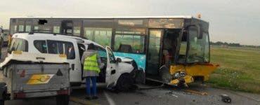 Accident pe Aeroportul Henri Coandă. Patru persoane au fost rănite