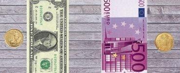 Curs valutar BNR 24 iulie 2019. Ce cotație are astăzi moneda europeană și dolarul