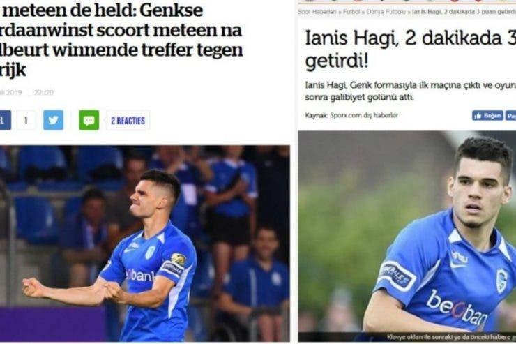 Ianis Hagi are presa la picioare