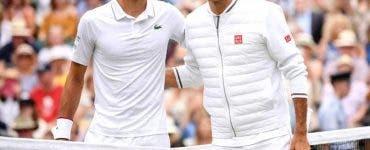 Federer model de inspirație pentru Djokovic