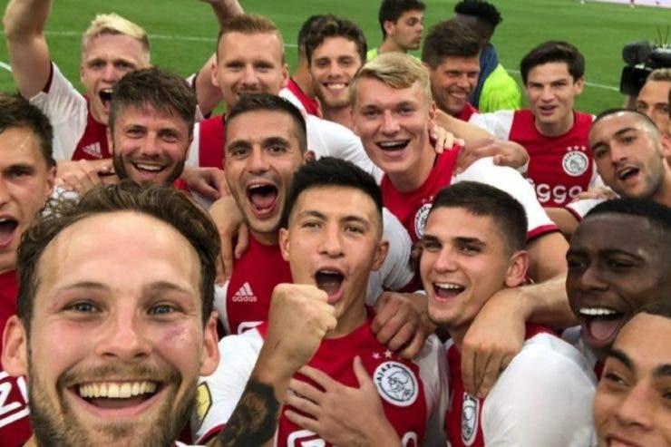 Răzvan Marin a luat Supercupa cu Ajax