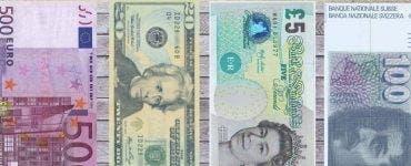 Curs valutar 9 iulie 2019. Câți lei costă 1 euro și 1 dolar astăzi