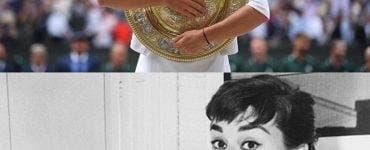 Simona Halep este comparată cu Audrey Hepburn